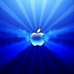 Blue Apple Fractal Logo