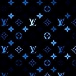 Louis Vuitton Blue and Black