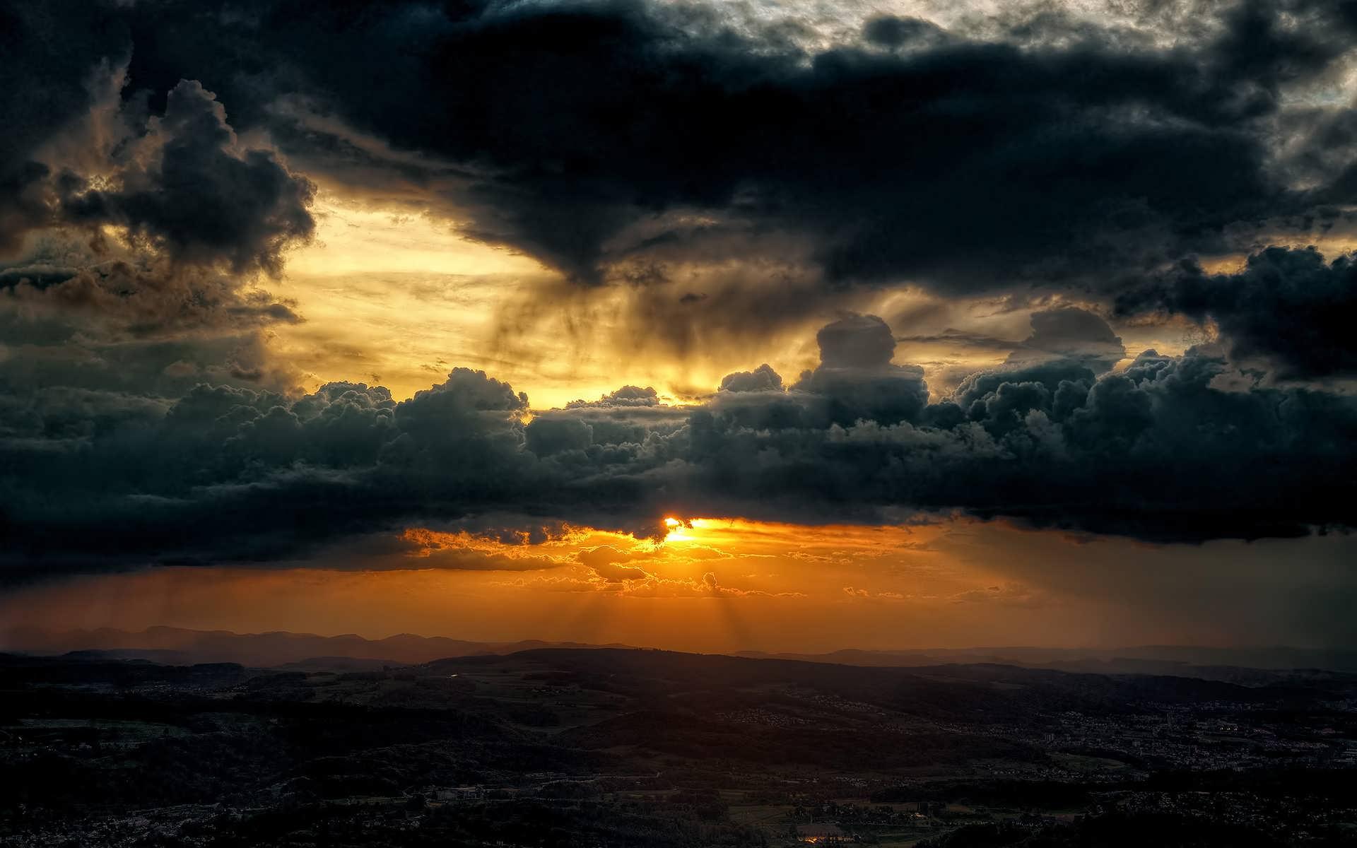 Tájkép A Naplementében Háttérkép 66
